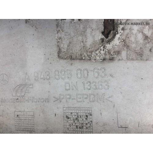 бампер L очко MP2 A9438804073