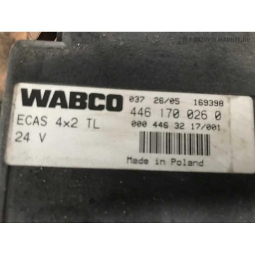 блок пневмо ECAS A0004463217