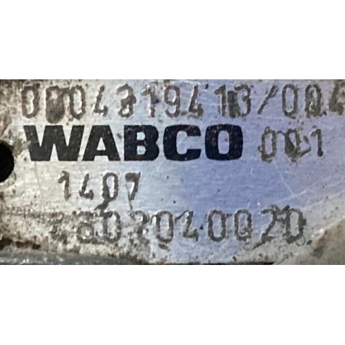 кран управления тормозами прицепа А0004319413