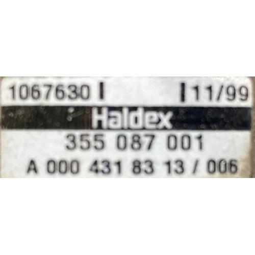 кран управления тормозами прицепа A0004318313