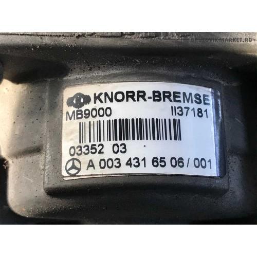 главный тормозной кран EBS A0034316506