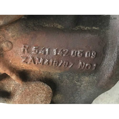 коллектор вып. часть под турбину MP1 A5411420509
