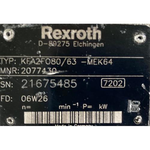 насос гидравлики на МКПП KFA2F080,63-MEK64