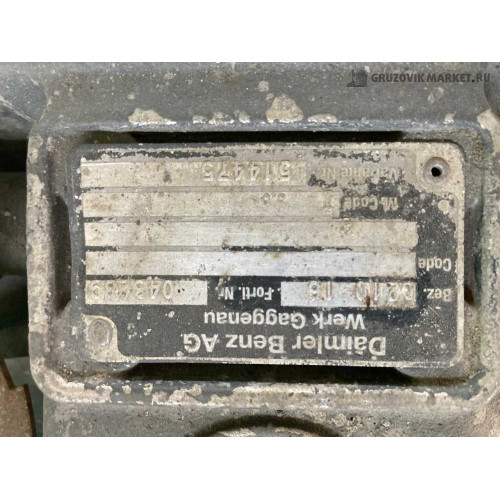 МКПП G210-16 A0012603600